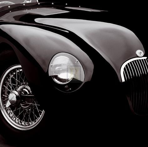 Jaguar C-Type Art Print