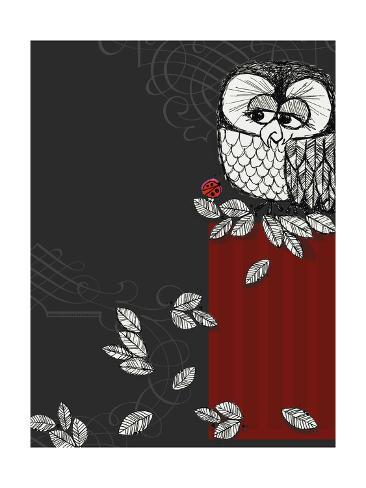 Retro Owl Photo