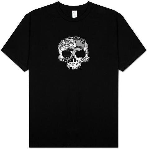 Retro - Skate or Die Skull T-Shirt