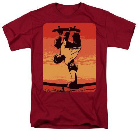 Retro - Skater On Rail T-Shirt