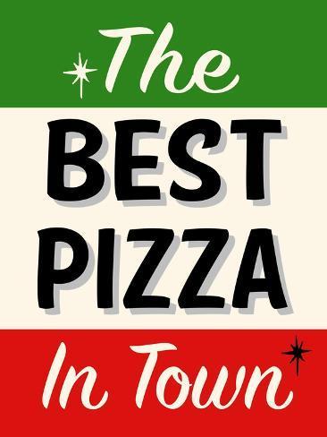 best pizza stripe l mina gicl e por retroplanet en. Black Bedroom Furniture Sets. Home Design Ideas