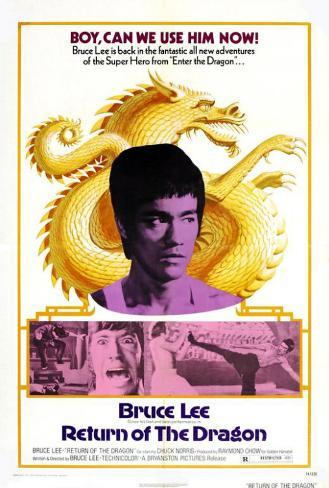 Return of the Dragon Poster