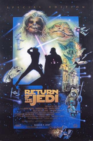 Return Of The Jedi Original Poster