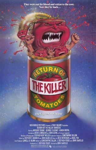 Return of the Killer Tomatoes! Masterprint