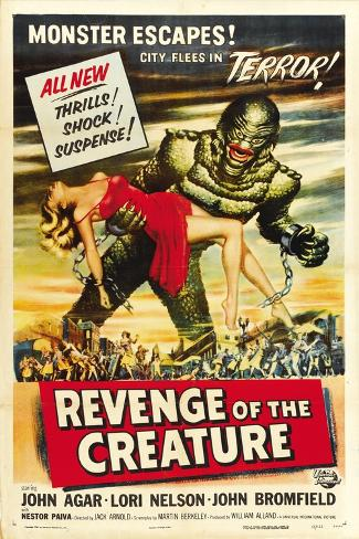 Revenge of the Creature, 1955, Directed by Jack Arnold Giclee Print