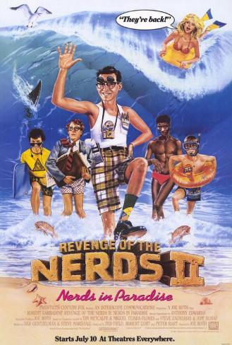 Revenge of the Nerds 2: Nerds in Paradise Poster