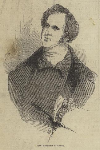 Reverend Tresham D Gregg Lámina giclée