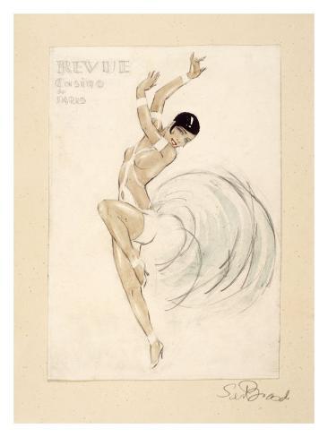 Revue Casino de Paris Giclee Print