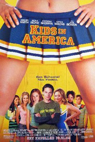Revuelo en las aulas|Kids In America Póster original