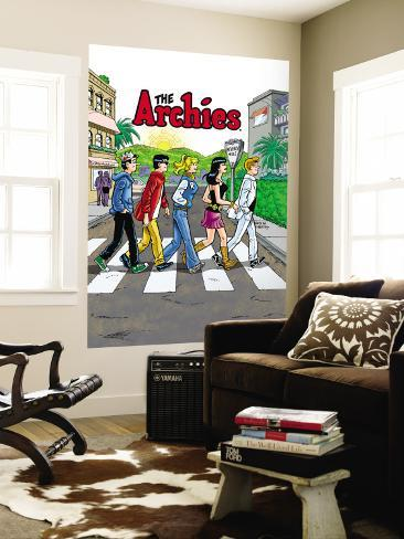 Archie Comics Cover: Archie Digest No.250 The Archies Wall Mural