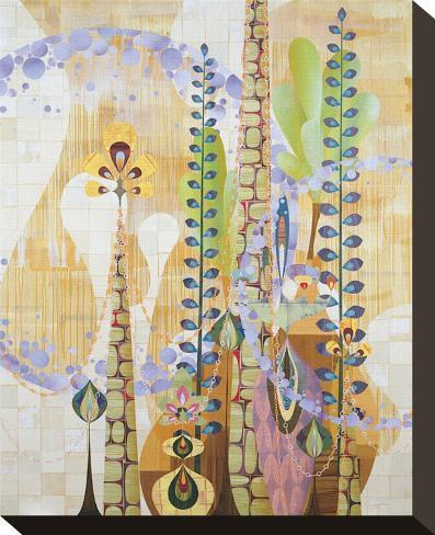 Sticta Stretched Canvas Print
