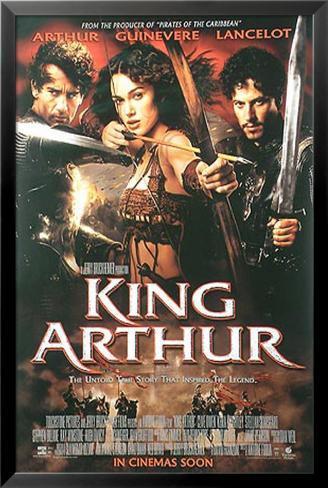 rey Arturo, El Póster enmarcado con plástico protector
