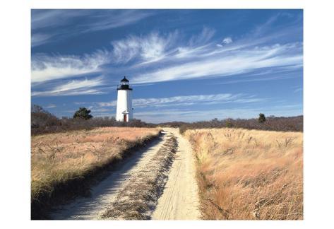 Cape Poge Lighthouse Art Print