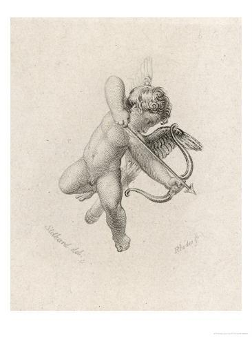 The Greek God of Love: His Roman Equivalent is Cupid Giclee Print