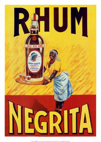 Rhum Negrita Art Print