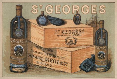 Rhum St Georges Art Print