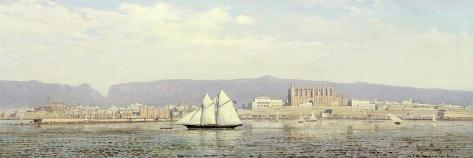 View of the Harbour, Palma Giclee Print