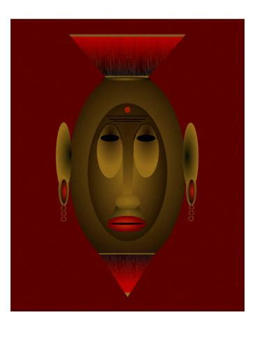 Mask of Dignity Giclee Print
