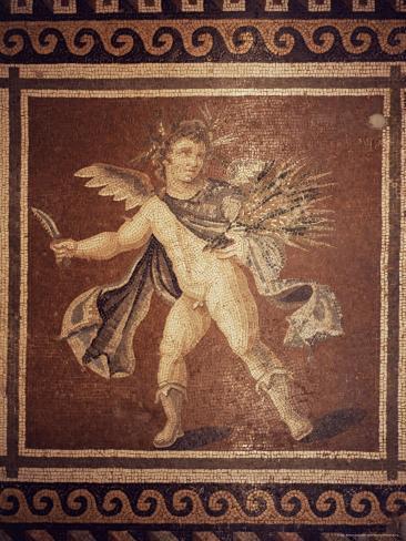 Roman Mosaic, Antioch Museum, Anatolia, Turkey, Eurasia Photographic Print