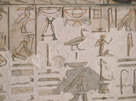 Tomb of Horemheb, Valley of the Kings, Thebes, Unesco World Heritage Site, Egypt Photographic Print
