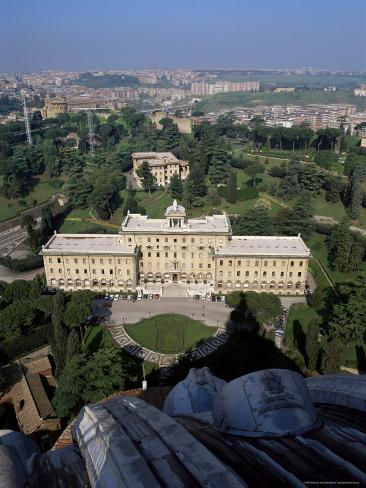 Vatican Gardens, St. Peter's, Rome, Lazio, Italy Photographic Print