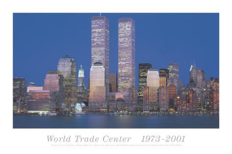 World Trade Center 1973-2001 Art Print