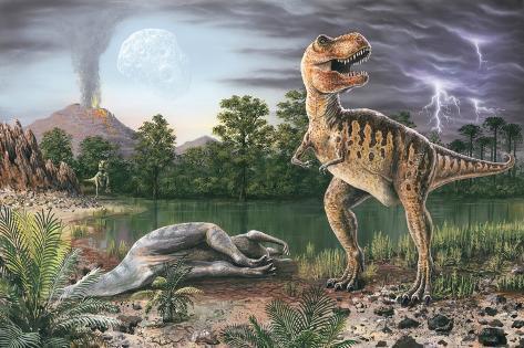 オールポスターズの richard bizley cretaceous tertiary extinction