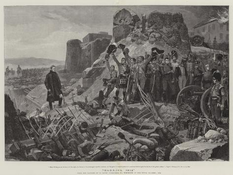 Badajos, 1812 Lámina giclée