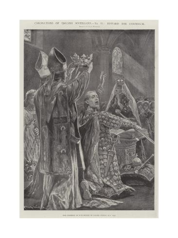 Coronations of English Sovereigns, Edward the Confessor Lámina giclée