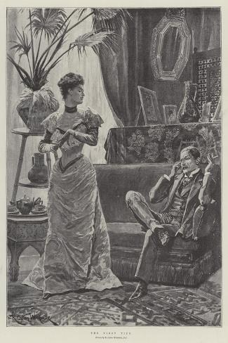The First Tiff Lámina giclée