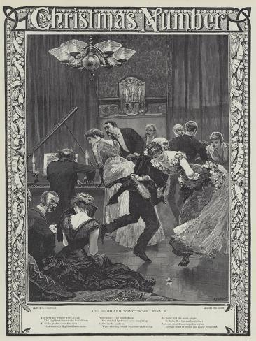 The Highland Schottische, Finale Lámina giclée