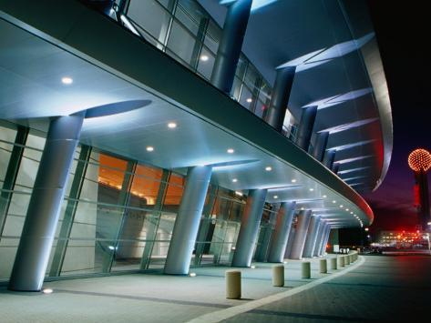 Dallas Convention Center, Dallas, Texas Photographic Print