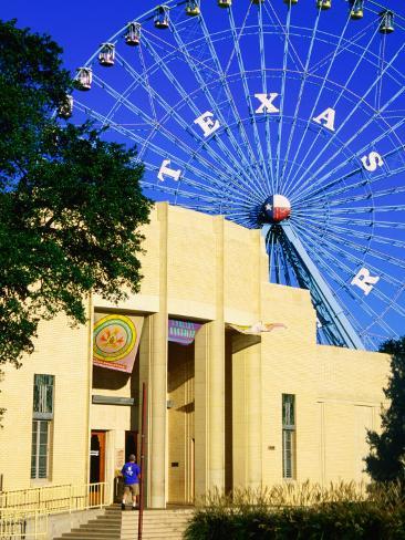 Dallas Museum of Natural History at Fair Park, Dallas, Texas Photographic Print