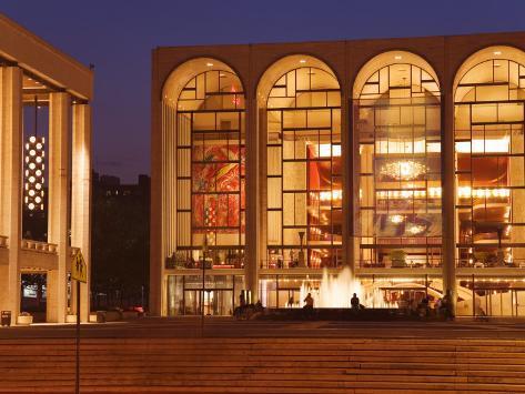 Lincoln Center, Upper West Side, Manhattan, New York City, New York, USA Photographic Print