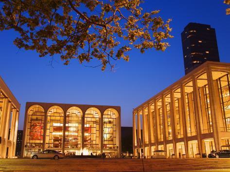 Lincoln Center, Upper West Side, Manhattan Photographic Print