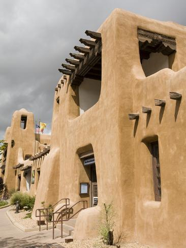 New Mexico Museum of Art, Santa Fe, New Mexico, United States of America, North America Photographic Print