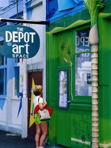The Depot Art Gallery, Auckland, New Zealand Photographic Print