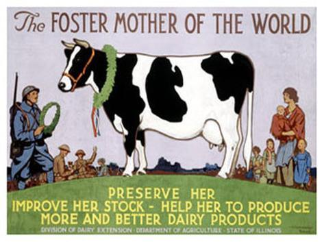 Foster Mother of the World Giclee Print