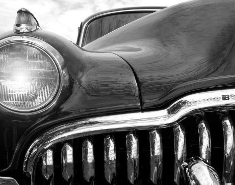 Buick Eight Stretched Canvas Print