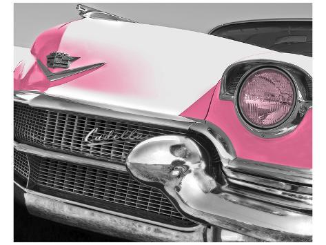 cadillac rosa, El Láminas por Richard James en AllPosters.es