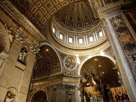 St Peter's Basilica Photographic Print