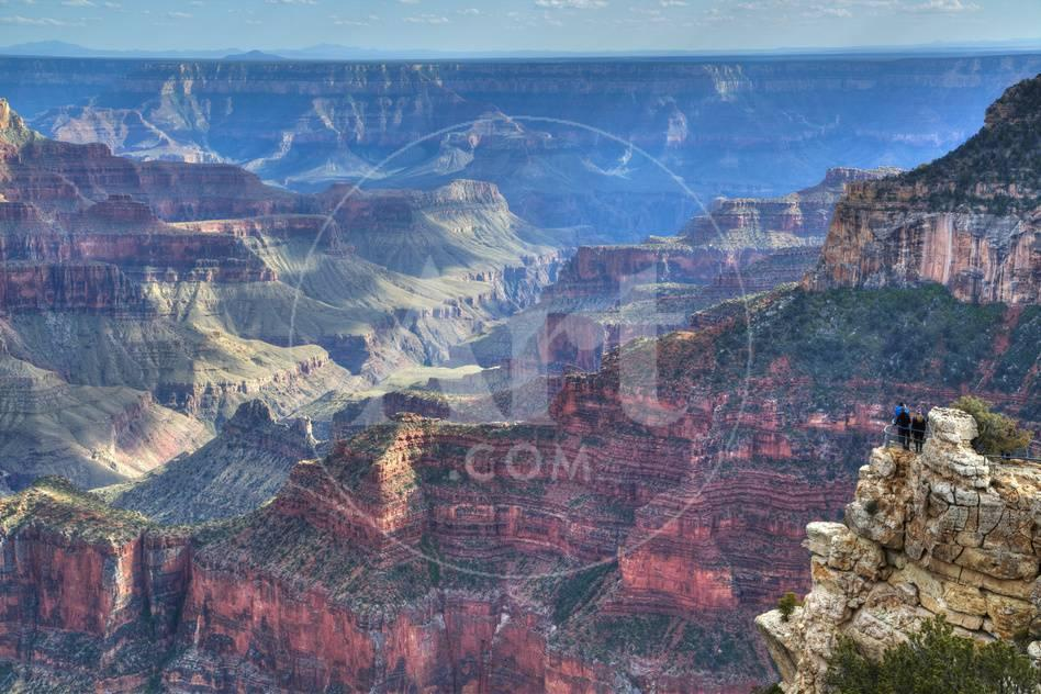 From Bright Angel Point North Rim Grand Canyon National Park Unesco World Heritage Site Arizona