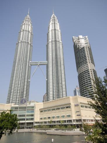 Petronas Twin Towers, One of the Tallest Buildings in the World, Kuala Lumpur, Malaysia Photographic Print