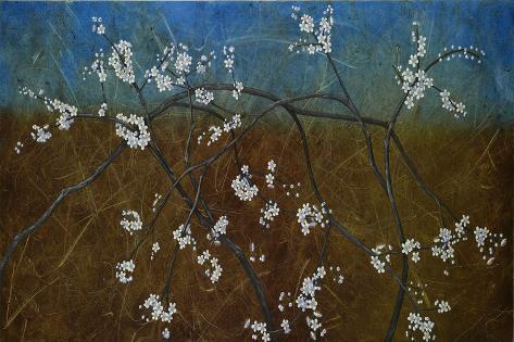 Flowering Blackthorn 5, 2008 Giclee Print