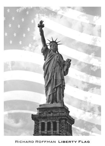 Liberty Flag Art Print