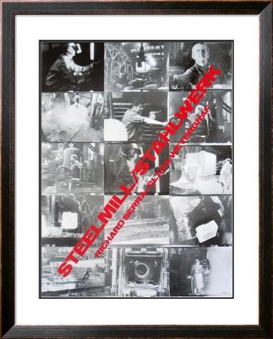 Steelmill at Castelli's Framed Art Print