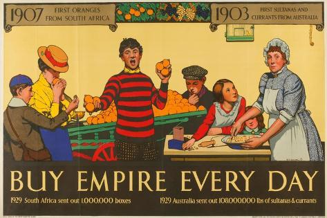 Buy Empire, from the Series 'Milestones of Empire Trade' Giclee Print