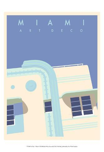 Art Deco-Miami Prints by Richard Weiss - AllPosters.co.uk