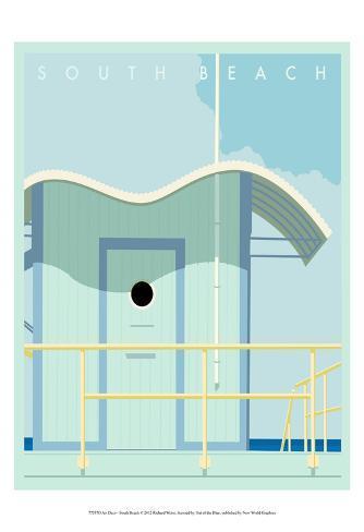 Art Deco-South Beach Art Print