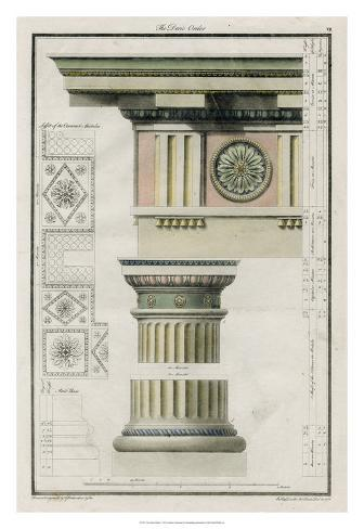 The Doric Order Giclee Print